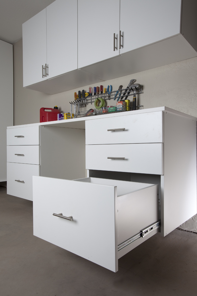 White Cabinet Drawers