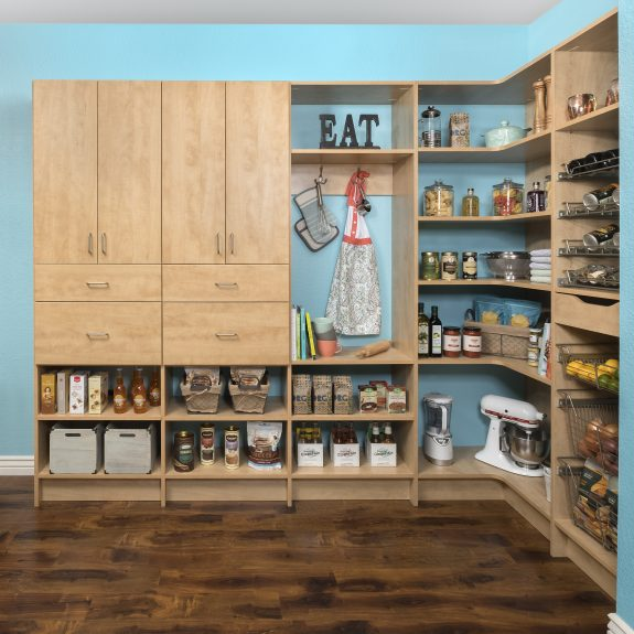 Secret Modern Pantry Doors and Drawer Fronts